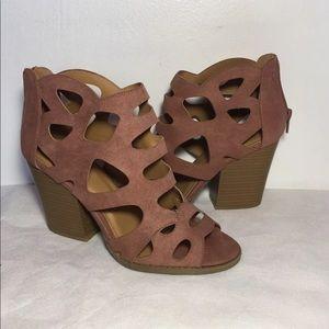 Qupid wide Heels